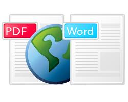 converte da PDF a DOC